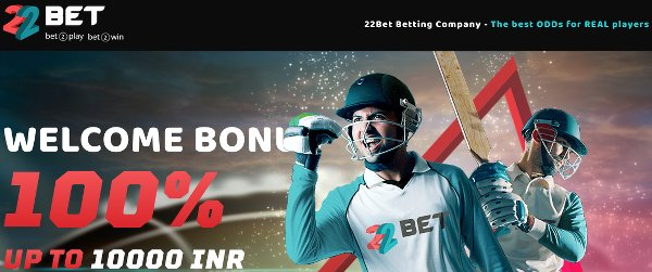 22bet India free bet