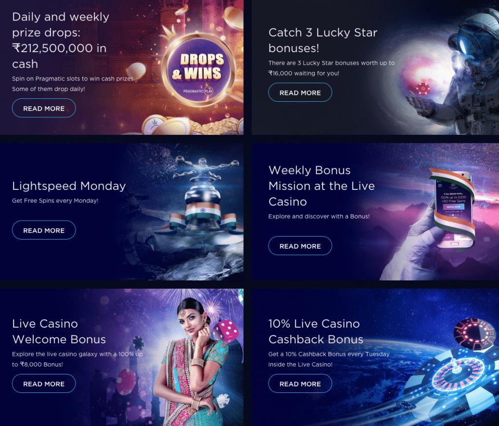 genesis casino india promotions